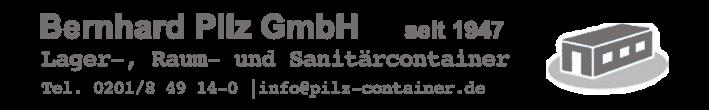 Bernhard Pilz GmbH - Container - Vermietung - Verkauf - Reparatur